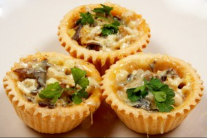 начинка для тарталеток с грибами, тарталетки с грибами рецепт